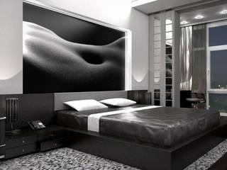 Дизайн - проект квартиры Спальня в стиле минимализм от Студия дизайна и проектирования ТОН Минимализм