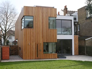 Park Road Modern windows & doors by IQ Glass UK Modern
