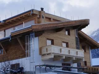 Montaż balkonowych okien drewnianych : styl , w kategorii  zaprojektowany przez Kraina Okien