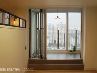 Modern Terrace by 디자인브리드 Modern