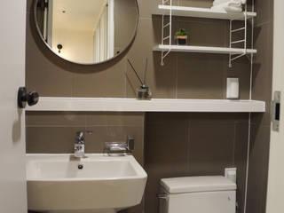 32평 초원대림아파트 리모델링 모던스타일 욕실 by 디자인브리드 모던