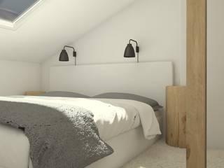Modern style bedroom by Sic! Zuzanna Dziurawiec Modern