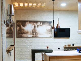 Этого не может быть или красота в посторе: Кухни в . Автор – дизайн студия 'Понимание'