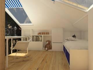 Nursery/kid's room by Sic! Zuzanna Dziurawiec
