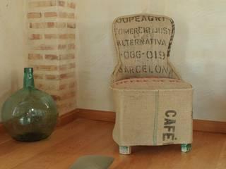 Piezas con Sacos de Café:  de estilo  de Arpillera