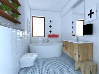 Modern bathroom by Sic! Zuzanna Dziurawiec Modern