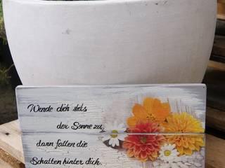Hübsches Wandschild mit Spruch:   von Meriland-Iris Meruna