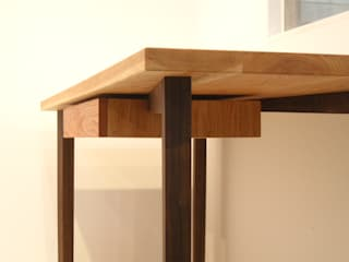 YK-Desk Set-2: 수제가구공방 YKhands의 미니멀리스트 ,미니멀