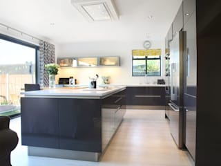Twitchell Lane Кухня в стиле модерн от in-toto Kitchens Design Studio Marlow Модерн