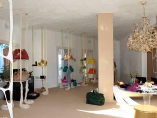 A temporary  and luxury bazar shop in Porto Cervo,Costa Smeralda, Sardinia.:   by Lid&er  Ltd