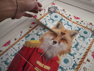 RED FOX in progress:   por Surrealejos