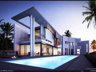 portada Casas de estilo moderno de aaroon2000-constructora.c.a Moderno