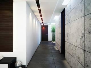 CASA PR Pasillos, vestíbulos y escaleras modernos de 12.20 Estudio de Arquitectura Moderno