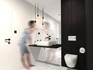 ŁAZIENKA SINGLA: styl , w kategorii Łazienka zaprojektowany przez MO Architekci