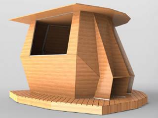 kiosk Varandas, marquises e terraços industriais por Marcos Alves Design Industrial