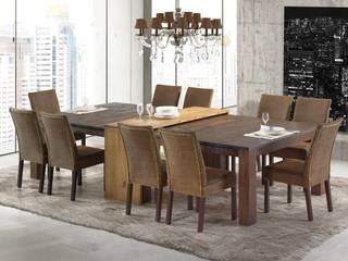 Salas de Jantar por Artefama Móveis Rústico