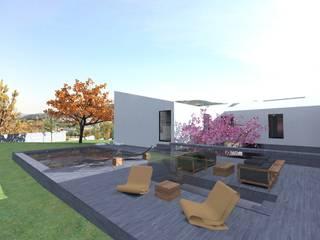 Minimalist house by Colectivo de Melhoramentos Minimalist