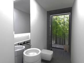 Ванные комнаты в . Автор – Colectivo de Melhoramentos, Минимализм