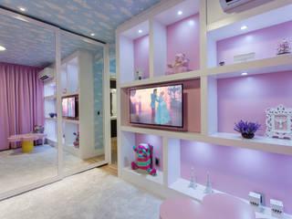 Apartamento Palazzo: Quarto infantil  por Designer de Interiores e Paisagista Iara Kílaris,Moderno MDF
