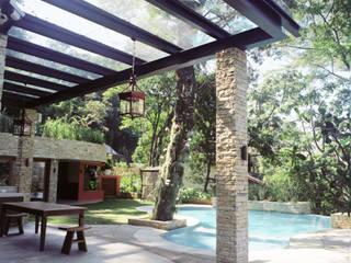 Maria Claudia Faro Garden Pool Stone