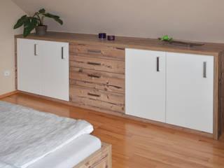 Schlafzimmer moder / rustikal herpich & rudorf GmbH + Co. KG SchlafzimmerKleiderschränke und Kommoden Holz-Kunststoff-Verbund Braun