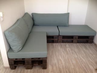 2nd Chance Créations Living roomSofas & armchairs Solid Wood Grey