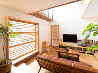 FAD建築事務所 现代客厅設計點子、靈感 & 圖片