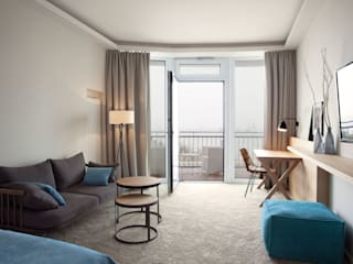 Hoteles de estilo  de BECKER Architekten & Innenarchitekten, Escandinavo