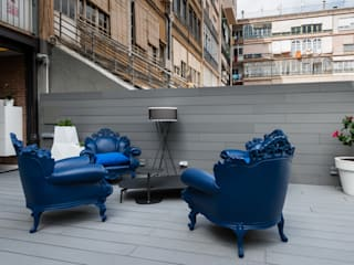 homify Balconies, verandas & terraces Furniture