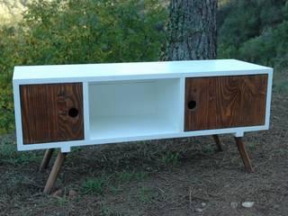 Muebles de salón de Miulas Mobles Rústico
