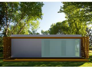 Projetos em LSF - Light Steel Framing.: Lojas e espaços comerciais  por Casas com Estilo - Obras,Moderno