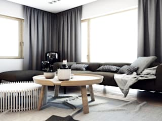 Modern living room by A2.STUDIO PRACOWNIA ARCHITEKTURY Modern