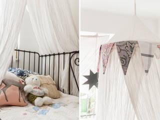 Ayuko Studio Dormitorios infantiles de estilo ecléctico Blanco