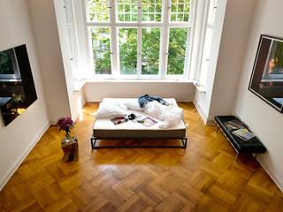 Le matelas Bruno en situation dans sa chambre par Bruno matelas Moderne