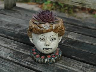 Pflanzköpfchen von Kunst und Keramik Landhaus