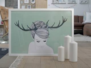 URwerk made in Ehrenfeld ArtworkPictures & paintings Paper Green