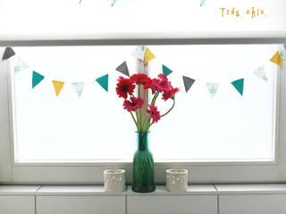 LYBSTES. 窗戶與門窗戶裝飾品 布織品 Turquoise