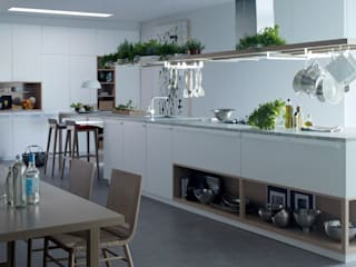 Green Kitchen:  de estilo  de Abad