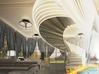 Mansion in London by Debbie Flevotomou Architects Ltd.