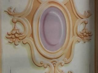 medaglione : Case in stile in stile Classico di Chiara Speroni architetto