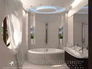 Интерьер дома во Владикавказе: Ванные комнаты в . Автор – Мастерская архитектора Аликова
