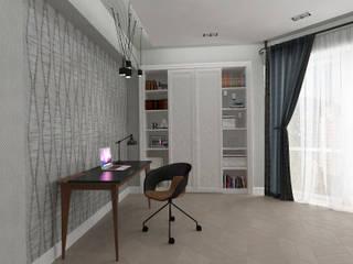Bureau de style  par Студия дизайна Дарьи Одарюк,