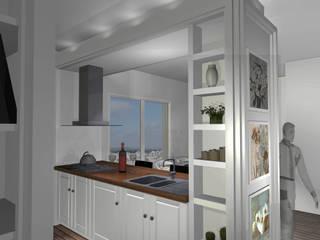 casa mediterranea: Cucina in stile  di Quintavalle Interior Design