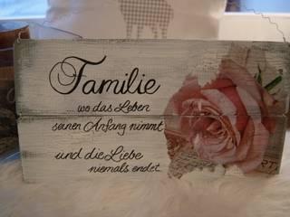 Holzschild mit Spruch 100% handmade:   von Meriland-Iris Meruna