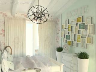 Chambre de style  par Дизайнер КОЗЛОВА СВЕТЛАНА