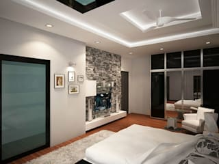 Bedroom by ACE INTERIORS