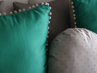 Herminia Mor BedroomAccessories & decoration Turquoise