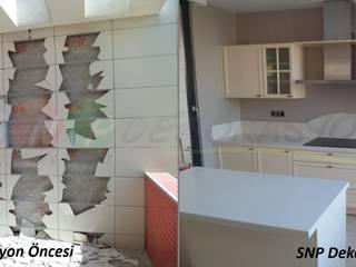 Öncesi ve sonrası değişimler SNP DEKORASYON