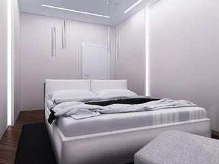 ЖК Карасьеозерский Спальня в стиле минимализм от TrioDesign Минимализм
