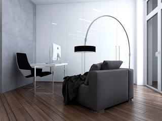 Estudios y oficinas minimalistas de TrioDesign Minimalista